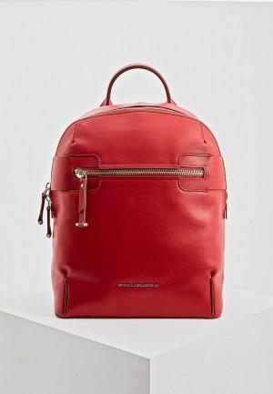 Рюкзак Piquadro LOL. Цвет: красный