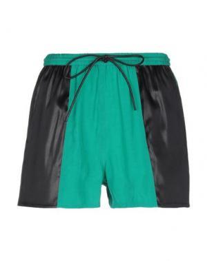 Повседневные шорты ILARIA NISTRI. Цвет: зеленый