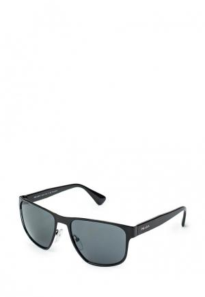 Очки солнцезащитные Prada PR040DWHXF25. Цвет: черный