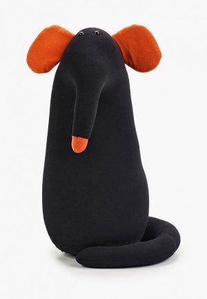 Подушка декоративная Gekoko Крыс - повелитель Кис. Цвет: черный