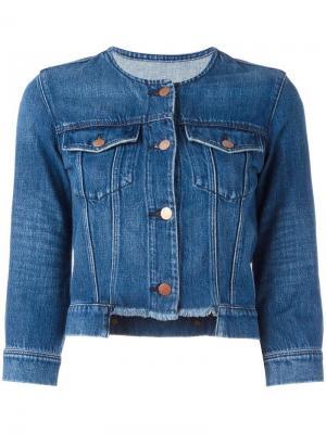 Джинсовая куртка Catesby J Brand. Цвет: синий