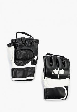 Перчатки Clinch MMA Combat. Цвет: черный