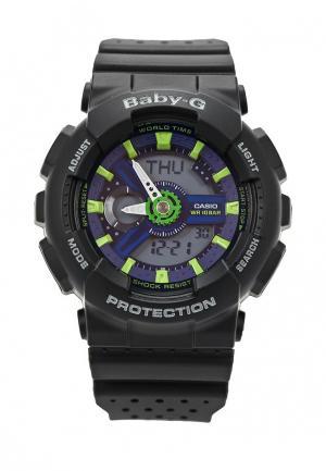 Часы Casio Baby-G BA-110PP-1A. Цвет: черный