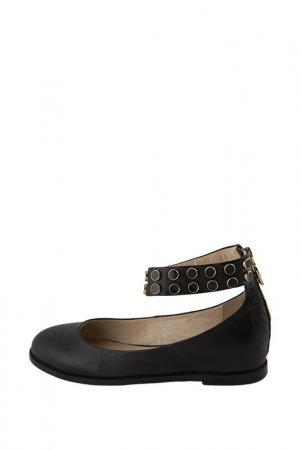 Балетки Just Couture. Цвет: black
