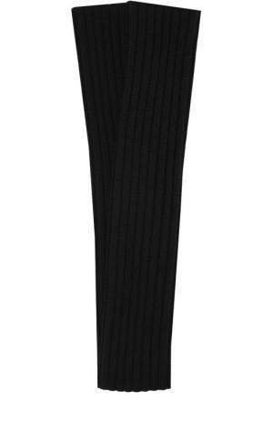 Шерстяные рукава Dsquared2. Цвет: черный