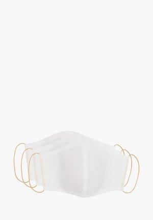 Маски для лица защитные 3 шт Doctor E. Цвет: белый