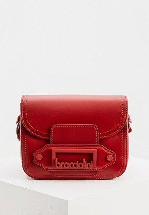 Сумка Braccialini. Цвет: красный