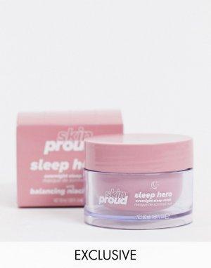 Ночная маска для лица Sleep Hero Skin Proud эксклюзивно ASOS-Бесцветный Lottie