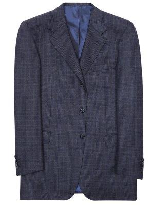 Пиджак шерстяной в клетку BRIONI