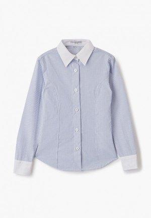 Рубашка Alessandro Borelli Milano. Цвет: голубой