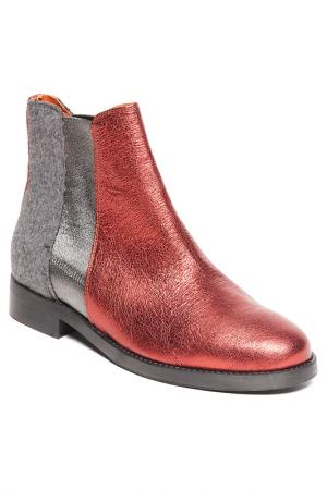 Ботинки BAGATT. Цвет: red, grey