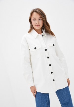 Куртка джинсовая 2nd Day. Цвет: белый