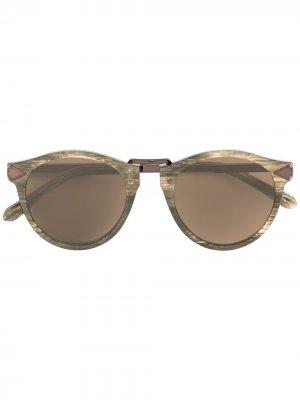 Солнцезащитные очки Hemingway Karen Walker. Цвет: коричневый