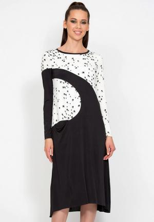 Платье D.VA MP002XW1GLOK. Цвет: мультиколор