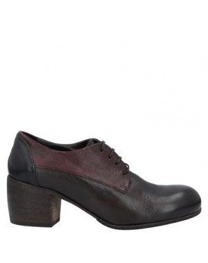 Обувь на шнурках ERNESTO DOLANI. Цвет: темно-коричневый