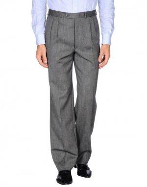 Повседневные брюки HARRISON. Цвет: серый