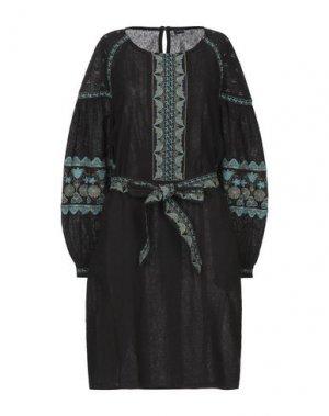 Короткое платье ANTIK BATIK. Цвет: черный