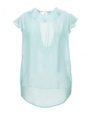 Блузка FLY GIRL. Цвет: светло-зеленый