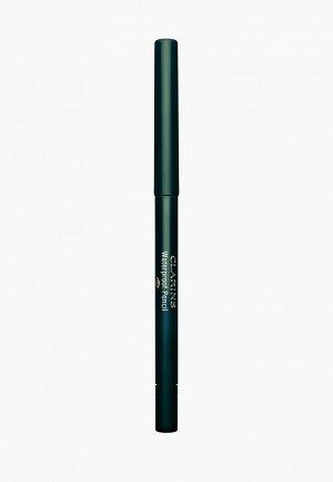 Карандаш для глаз Clarins автоматический водостойкий, Waterproof Pencil, 05 forest, 0,29 гр. Цвет: зеленый