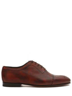 Кожаные туфли-оксфорды BONTONI
