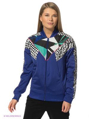 Куртка Clash Track Jacket Puma. Цвет: синий, черный