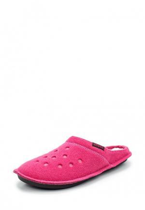 Тапочки Crocs. Цвет: розовый