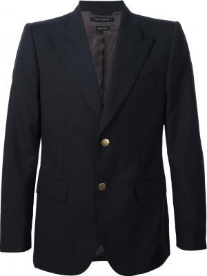 Пиджак на две пуговицы Marc Jacobs. Цвет: синий