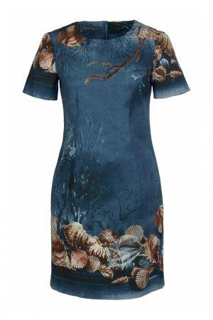 Платье Alberta Ferretti. Цвет: мультицвет