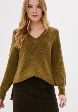 Пуловер Marks & Spencer PER UNA. Цвет: хаки