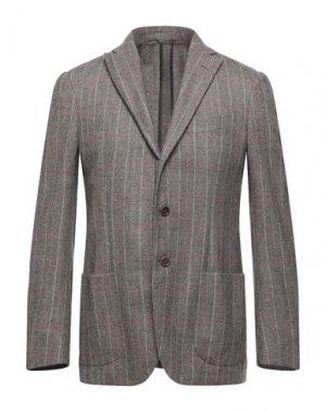 Пиджак ASPESI. Цвет: темно-коричневый