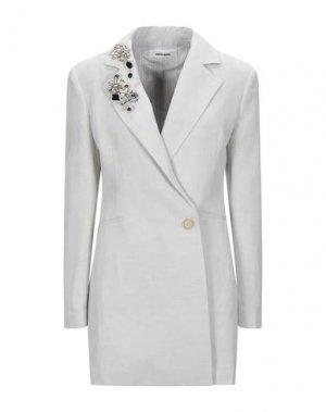 Легкое пальто CIRCUS HOTEL. Цвет: светло-серый