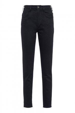 Черные джинсы скинни Prada. Цвет: черный