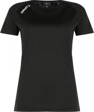 Футболка женская Event Tee, размер 46-48 Craft. Цвет: черный