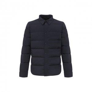 Пуховая куртка Aspesi. Цвет: синий