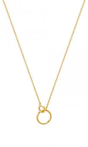 Ожерелье wilshire gorjana. Цвет: металлический золотой