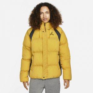 Мужской пуховик Jordan Essentials - Желтый Nike