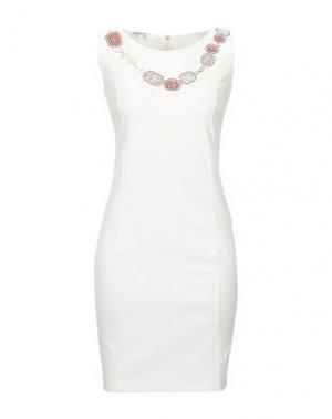 Короткое платье EAN 13. Цвет: белый