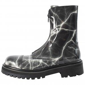 Лаковые ботинки на молнии Vetements