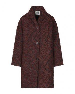 Пальто ATTIC AND BARN. Цвет: какао