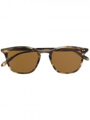 Солнцезащитные очки Clark Garrett Leight. Цвет: нейтральные цвета