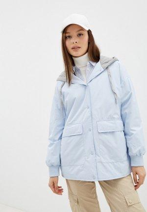 Куртка утепленная Ostin O'stin. Цвет: голубой