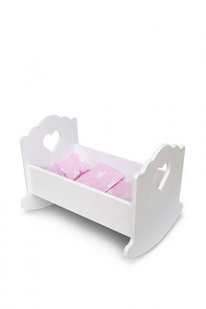 Кровать-люлька Детская1. Цвет: белый