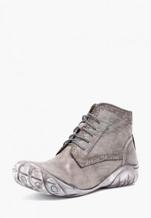 Ботинки Airbox. Цвет: серый