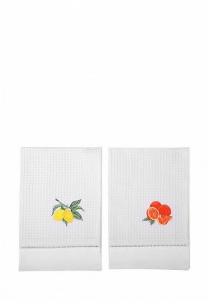 Набор полотенец кухонных Bellehome Citrus 50х70