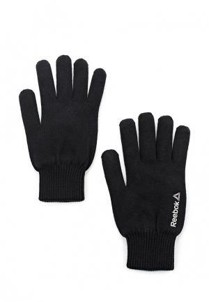 Перчатки Reebok SE M LOGO GLOVES. Цвет: черный