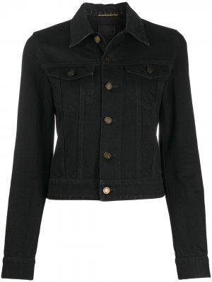 Джинсовая куртка Saint Laurent. Цвет: черный