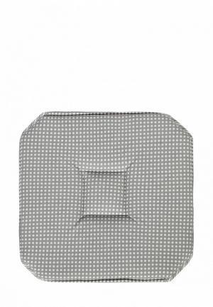 Подушка на стул Dream Time 37x37. Цвет: серый