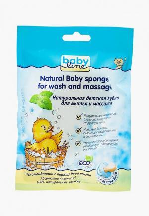 Губка для тела Babyline Детская мытья и массажа Натуральная