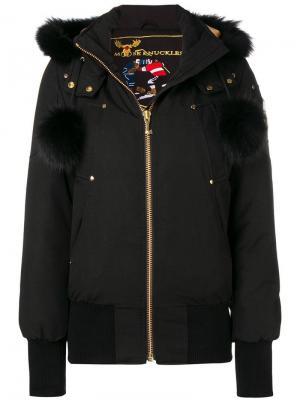 Куртка-бомбер Debbie Moose Knuckles. Цвет: черный