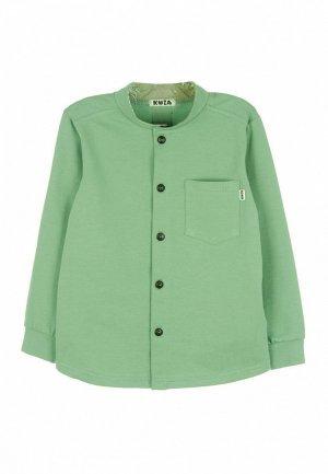 Рубашка Кузя. Цвет: зеленый